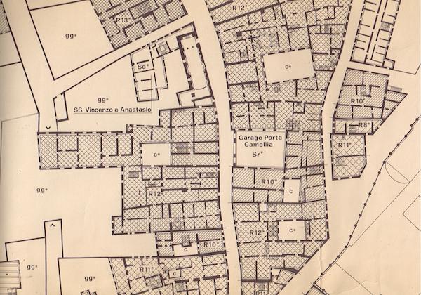 la città murata scala originaria 1:500